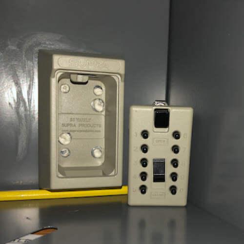 MILKBOX_S5KLEB,coffre à clés à code - boîte à clés murale