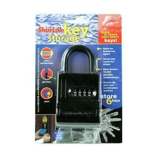 SL200 - boîte à clés murale - coffre à clés sécurisé
