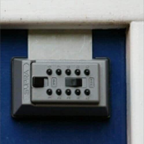 SUPRAJ5,boîte à clés à code - coffre à clés