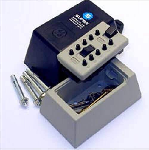 SUPRAS5 - boîte à clés murale - coffre à clés mural