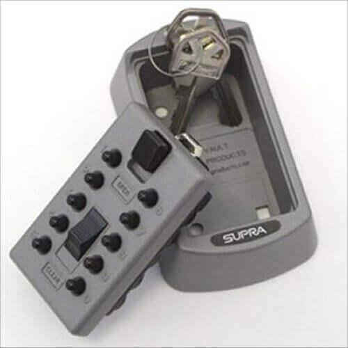 SUPRAS6,boîte à clés sécurisée - coffre à clés mural