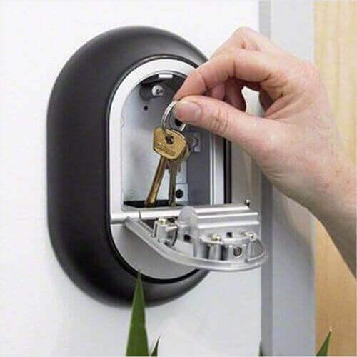 Y500,boîte à clés murale - coffre à clés